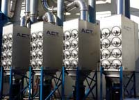 PDust Collection Equipment - A.C.T. Dust Collectors
