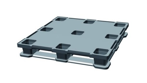 Square Nestable Container Pallet