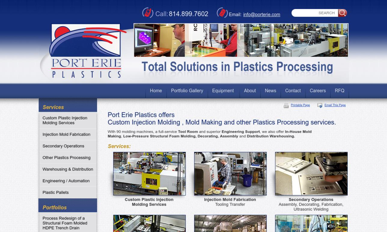 Port Erie Plastics, Inc.