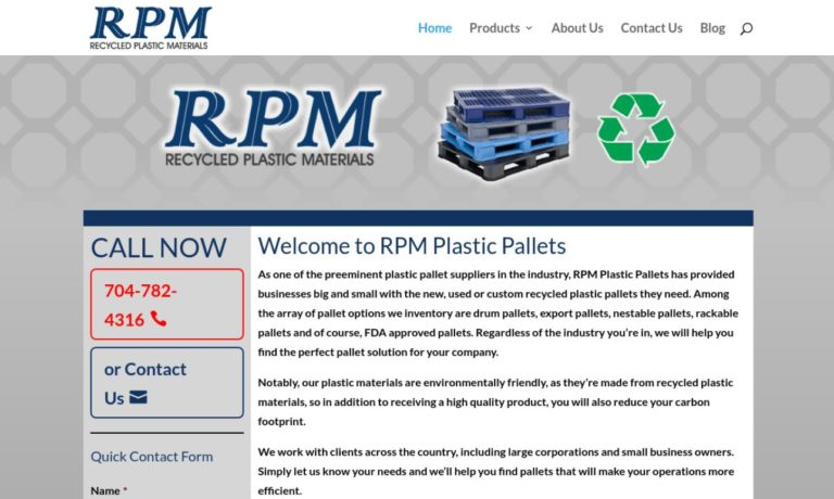 RPM Plastic Pallets